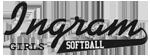 Ingram Girls Softball Logo