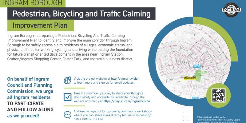 Ingram Borough Pedestrian Bicycling and Traffic Calming Plan